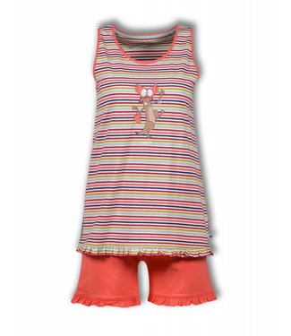 Woody Ladies Frill Top & Shorts 191-1-PSP-S/946-D