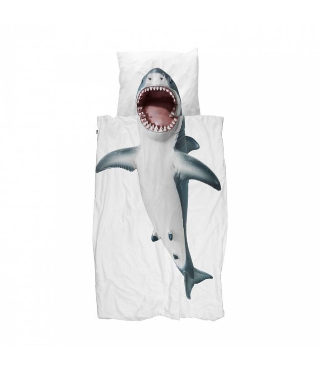 Snurk Shark!! Donsovertrek