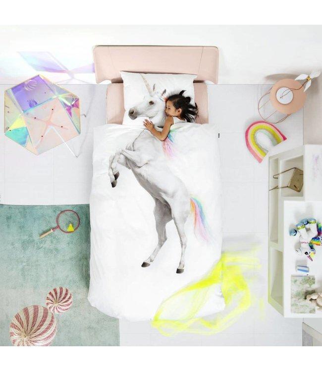 Snurk Unicorn Donsovertrek