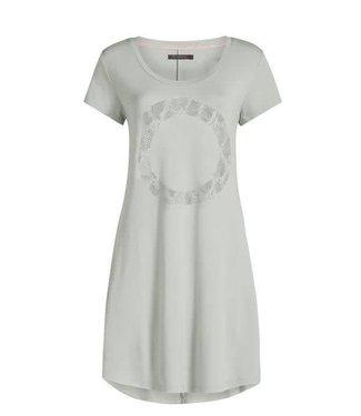 Essenza Isa Circle Nightdress Short Sleeve Dusty Green