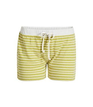 Essenza Roques Stripe Trousers Short Yellow