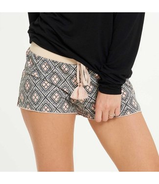 Lingadore Terry Moon Jogging Short Black
