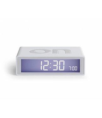 Lexon Flip Clock 2 White
