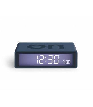 Lexon Flip Clock 2 Trendy Blue