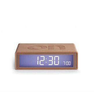 Lexon Flip Clock 2 Metal Copper