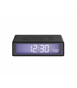 Lexon Flip Clock 2 Metal Black