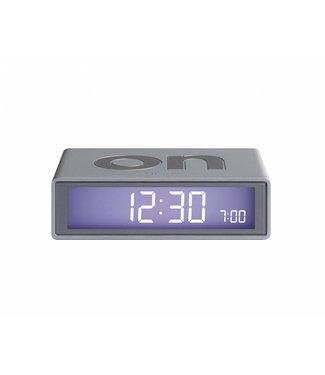 Lexon Flip Clock 2 Gun Metal