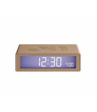 Lexon Flip Clock 2 Soft Gold