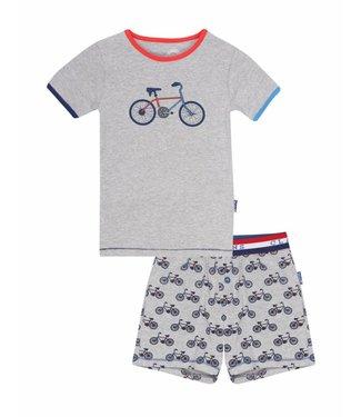 Claesen's Boys Pyjama Bicycle Grey