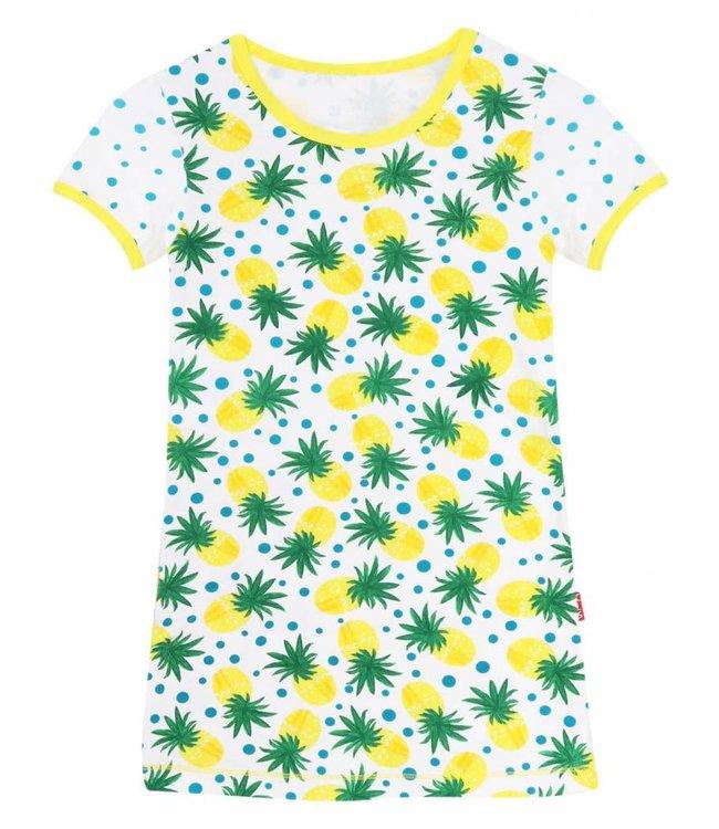 Claesen's Pineapple Dots Girls Dress
