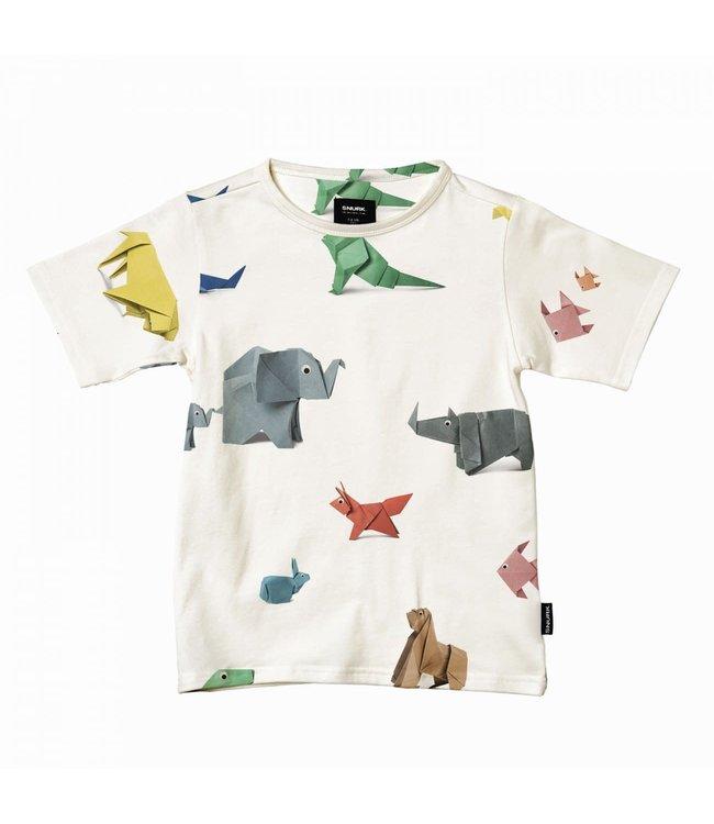Snurk Paper Zoo T-shirt Kids