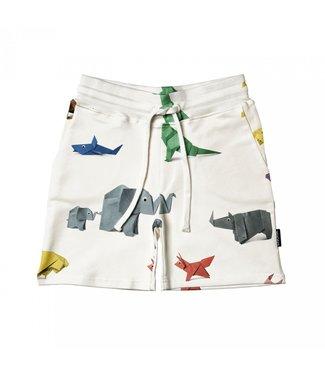 Snurk Paper Zoo Shorts Kids
