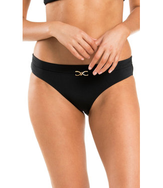 Jets Swimwear Mid Pant Black