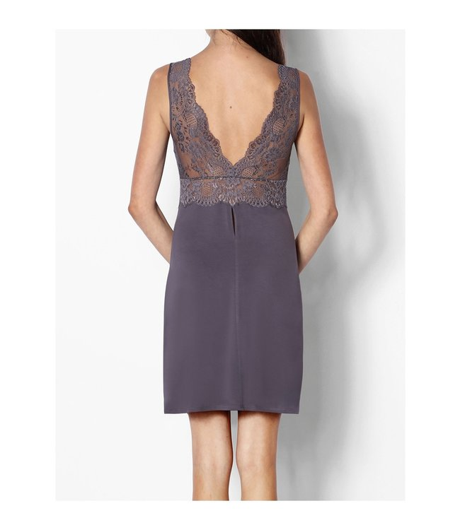 Coemi Lace Shoulder Nightdress  Dusk 262