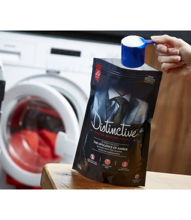 Distinctive Washing Powder The Opulence of Amber