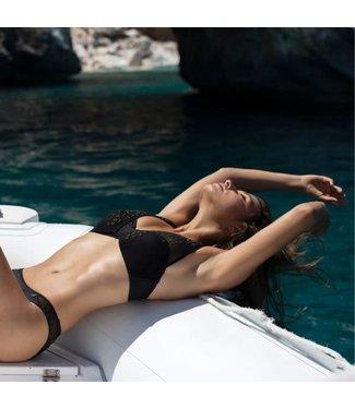 Beachlife Black Mesh Bikinitop  970122-962