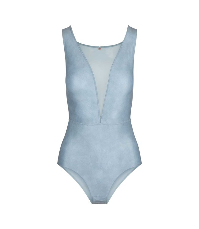 Lingadore Body Lucia Soft Teal Green