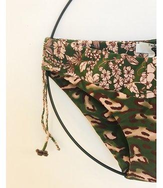 Twin-Set Bikini Global Slip Verde Amazzonia U99