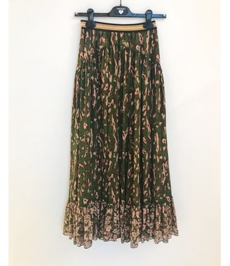 Twin-Set Skirt St. Macula Verde Amazzonia