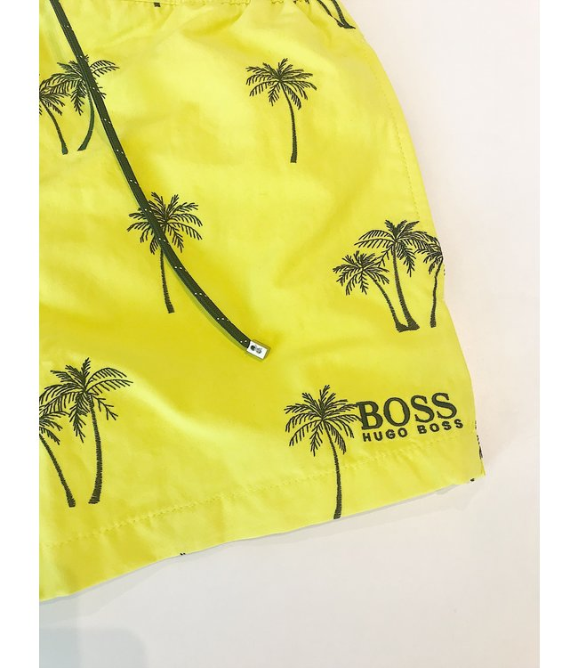 Hugo Boss Zwemshort White Shark 19 Bright Yellow