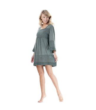 Iconique 3/4 Sleeve Dress Selva Lilian Forest