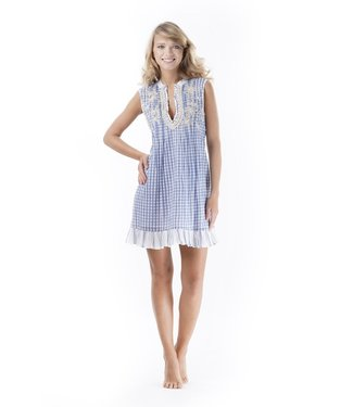 Iconique Sleeveless Dress Biarritz Sonia Light Blue