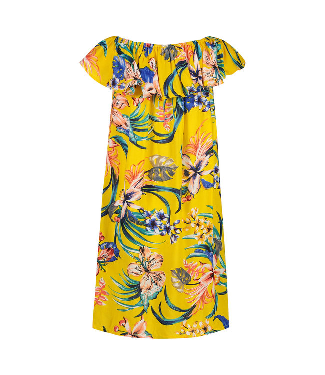 Shiwi Girls Sayulita Ruffle Dress Sunshine