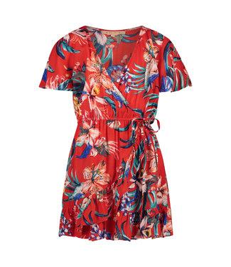 Shiwi Girls Sayulita Wrap Dress Flame Red