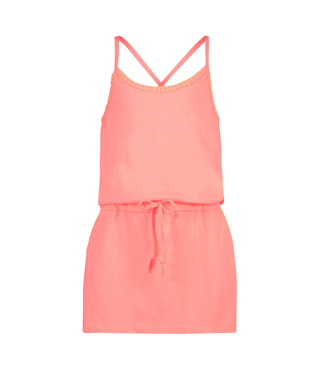 Shiwi Girls Holiday Dress Light Coral