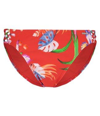 Shiwi Ladies Regular Bikinislip straps Sayulita Flame Red