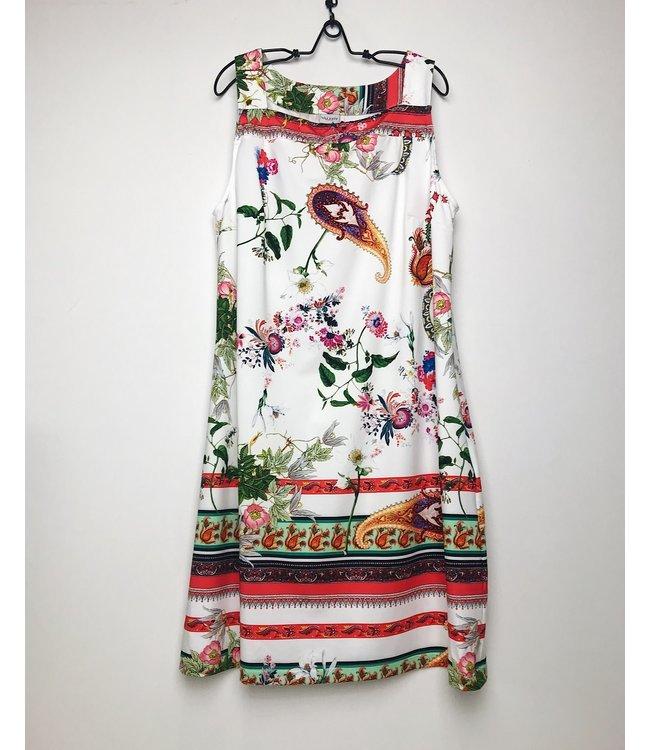 Valery Sunny Dress Sentire Fiori Bianco