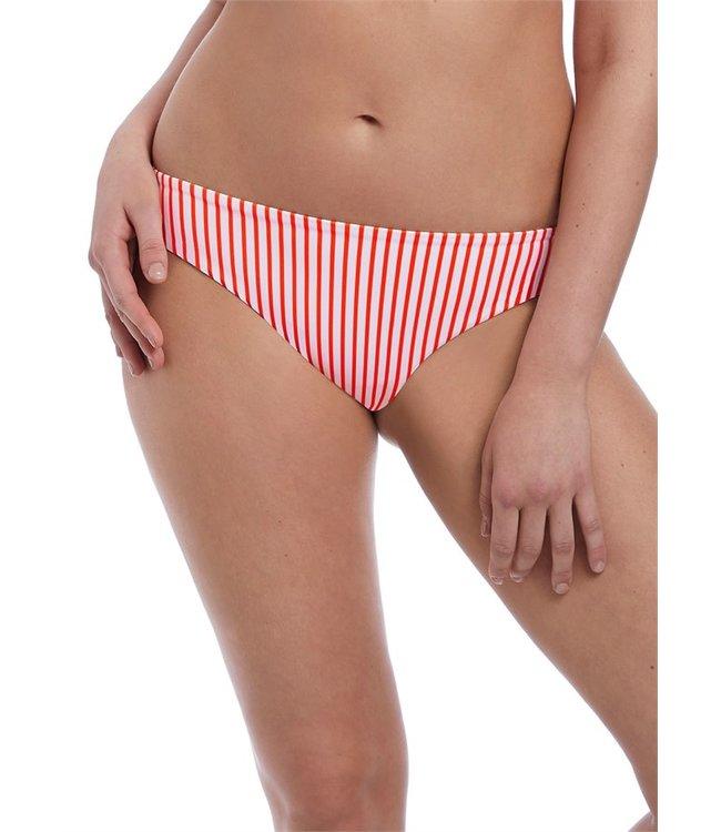 Freya Totally Stripe Bikinislip Flame