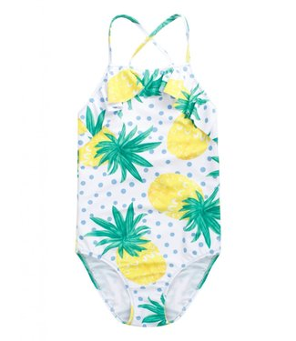 Claesen's Pineapple Dots Girls Swimsuit