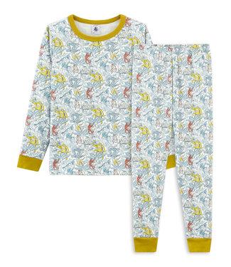 Petit Bateau Pyjama Allover Jungle Monkeys