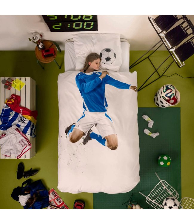 Snurk Soccer Champ Blue 140x200/220