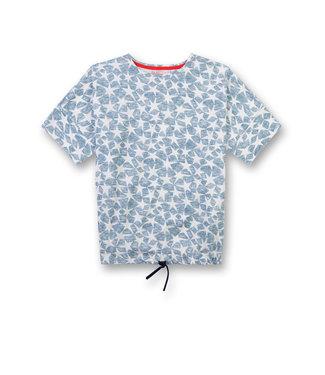 Sanetta Girls T-shirt Power Allover Stars