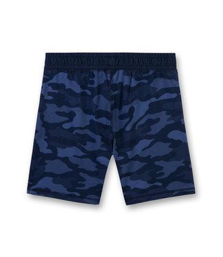 Sanetta Boys Allover Short Un Real Blue
