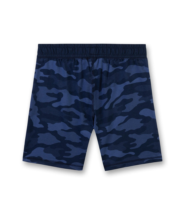 Sanetta Boys Allover Short Un Real Blue