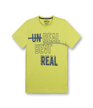 Sanetta Boys T-shirt Un Real Fluo Yellow