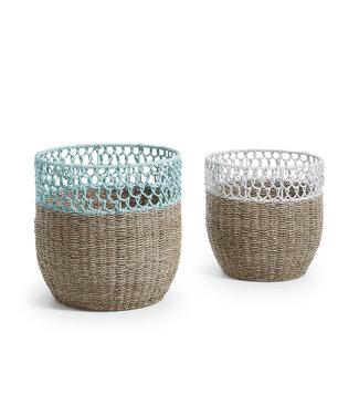 Maja Set 2 Baskets Wicker Natural