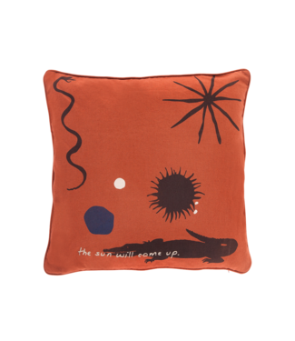 Anna + Nina Pillow Case The Sun Will Come Up Terra