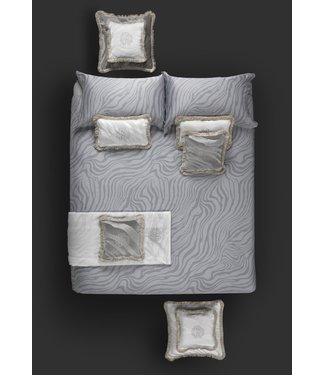 Roberto Cavalli Macro Zebrage Pearl Grey Donsovertrek