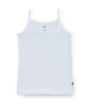 Woody Meisjeshemdje Singlet Basic White