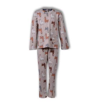 Woody 192-1-BSL-S/949 Meisjes-Dames pyjama