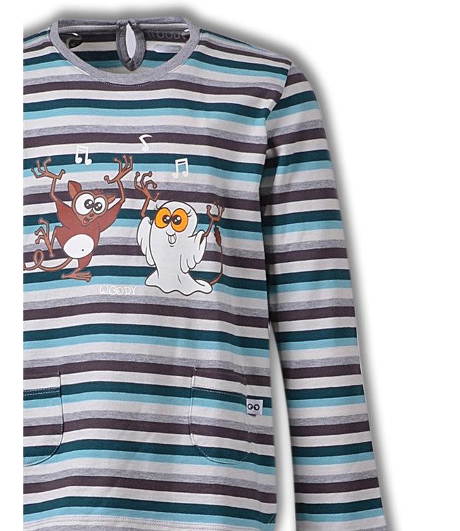 Woody 192-1-BSL-S/971 Meisjes-Dames pyjama