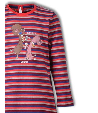 Woody 192-1-BLB-S/948 Meisjes-Dames pyjama