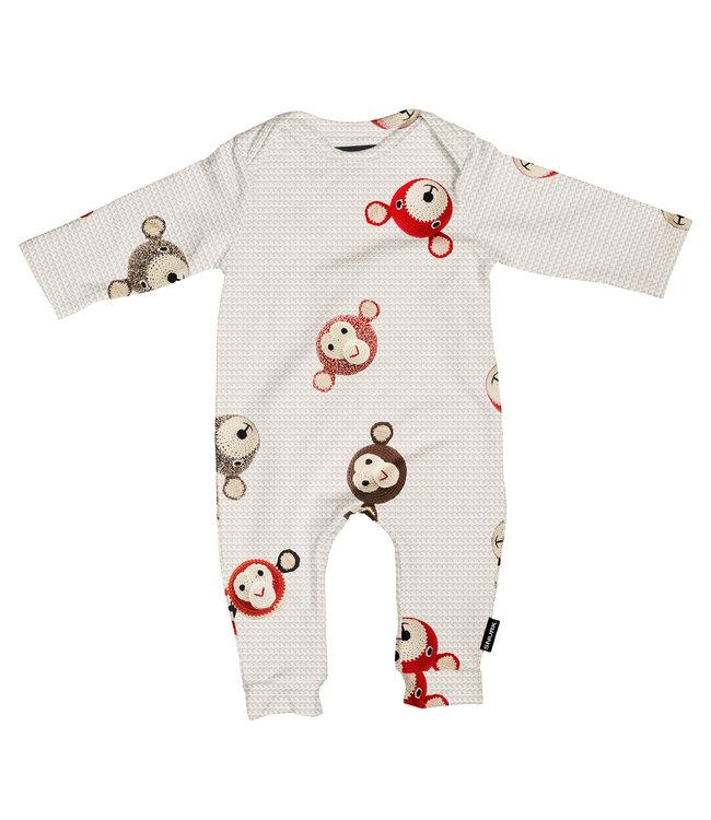 Snurk Teddy & Chimp Jumpsuit