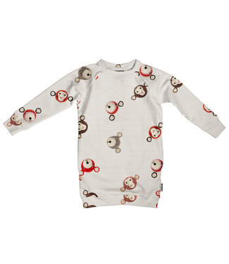 Snurk Teddy & Chimp Sweater Dress Kids