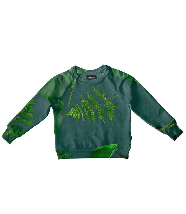 Snurk Green Forest Sweather Kids