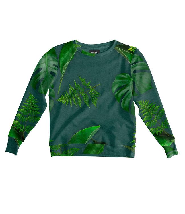 Snurk Green Forest Sweater Women
